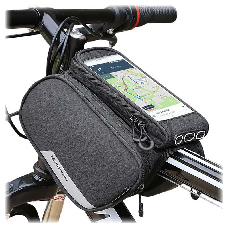 Wozinsky WBB7BK Universal Water Resistant Bicycle Case - 6.5""