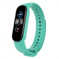 Xiaomi Mi Band 5 Replacement Silicone Strap - Cyan