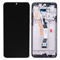 Xiaomi Redmi Note 8 Pro Front Cover & LCD Display 56000500G700 - Black