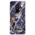 Samsung Galaxy S9+ iDeal of Sweden Fashion Case - Midnight Blue Marble