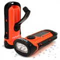 iGadgitz Xtra Eco Rechargeable Solar Waterproof LED Flashlight