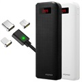 iMyMax Carbon 20000mAh Power Bank Set with 3-in-1 Magnetic Cable