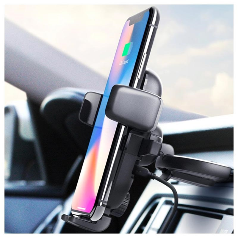iOttie Easy One Touch 4 Fast Wireless Charger / CD Slot Car Holder
