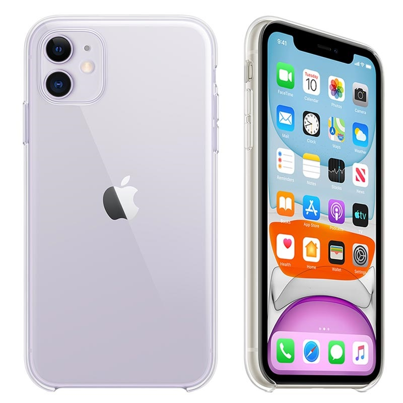 iPhone 11 Apple Clear Case MWVG2ZM\/A - Transparent
