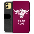 iPhone 11 Premium Wallet Case - Bull