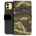iPhone 11 Premium Wallet Case - Camo