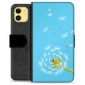 iPhone 11 Premium Wallet Case - Dandelion