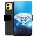 iPhone 11 Premium Wallet Case - Diamond