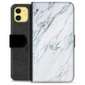 iPhone 11 Premium Wallet Case - Marble