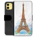 iPhone 11 Premium Wallet Case - Paris