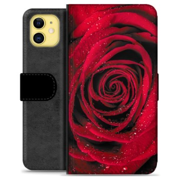 iPhone 11 Premium Wallet Case - Rose