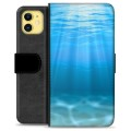 iPhone 11 Premium Wallet Case - Sea