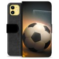 iPhone 11 Premium Wallet Case - Soccer