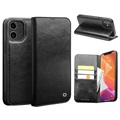 Qialino Classic iPhone 12/12 Pro Wallet Leather Case