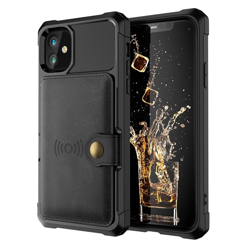 iPhone 12 Pro Max TPU Case with Card Holder