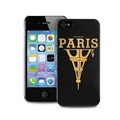 iPhone 4 / 4S Puro Happiness Paris Case - Black