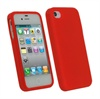 iPhone 4 / 4S iGadgitz Silicone Case - Red