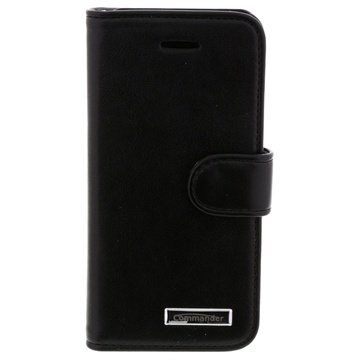 iPhone 5 / 5S / SE Commander Book Elite Leather Case