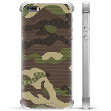 iPhone 5/5S/SE Hybrid Case - Camo