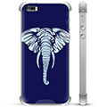 iPhone 5/5S/SE Hybrid Case - Elephant