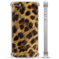 iPhone 5/5S/SE Hybrid Case - Leopard