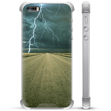 iPhone 5/5S/SE Hybrid Case - Storm