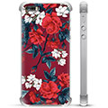 iPhone 5/5S/SE Hybrid Case - Vintage Flowers
