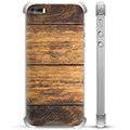 iPhone 5/5S/SE Hybrid Case - Wood