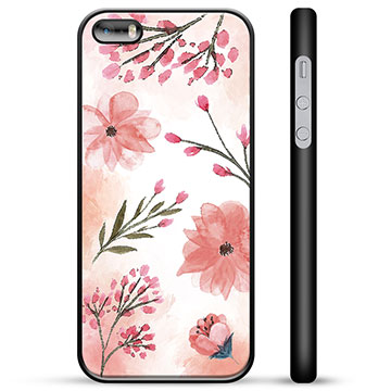iPhone 5/5S/SE Protective Cover - Pink Flowers