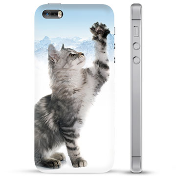 iPhone 5/5S/SE TPU Case - Cat