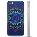 iPhone 5/5S/SE Hybrid Case - Colorful Mandala