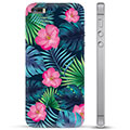 iPhone 5/5S/SE Hybrid Case - Tropical Flower