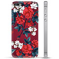 iPhone 5/5S/SE TPU Case - Vintage Flowers