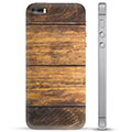 iPhone 5/5S/SE TPU Case - Wood