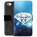 iPhone 5/5S/SE Premium Wallet Case - Diamond
