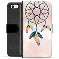 iPhone 5/5S/SE Premium Wallet Case - Dreamcatcher