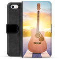 iPhone 5/5S/SE Premium Wallet Case - Guitar