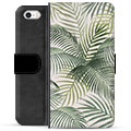iPhone 5/5S/SE Premium Wallet Case - Tropic