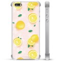 iPhone 5/5S/SE Hybrid Case - Lemon Pattern