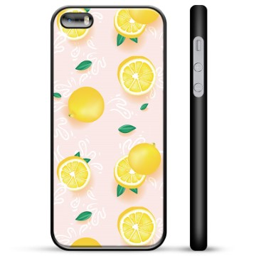 iPhone 5/5S/SE Protective Cover - Lemon Pattern