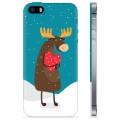 iPhone 5/5S/SE TPU Case - Cute Moose
