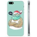 iPhone 5/5S/SE TPU Case - Modern Santa