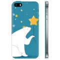 iPhone 5/5S/SE TPU Case - Polar Bear