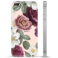 iPhone 5/5S/SE TPU Case - Romantic Flowers