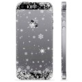 iPhone 5/5S/SE TPU Case - Snowflakes