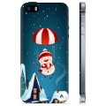 iPhone 5/5S/SE TPU Case - Snowman