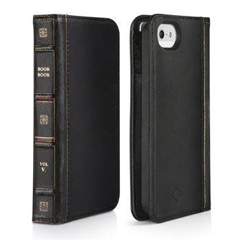 super cute da738 bbe2b iPhone 5/5S/SE Twelve South BookBook Leather Case