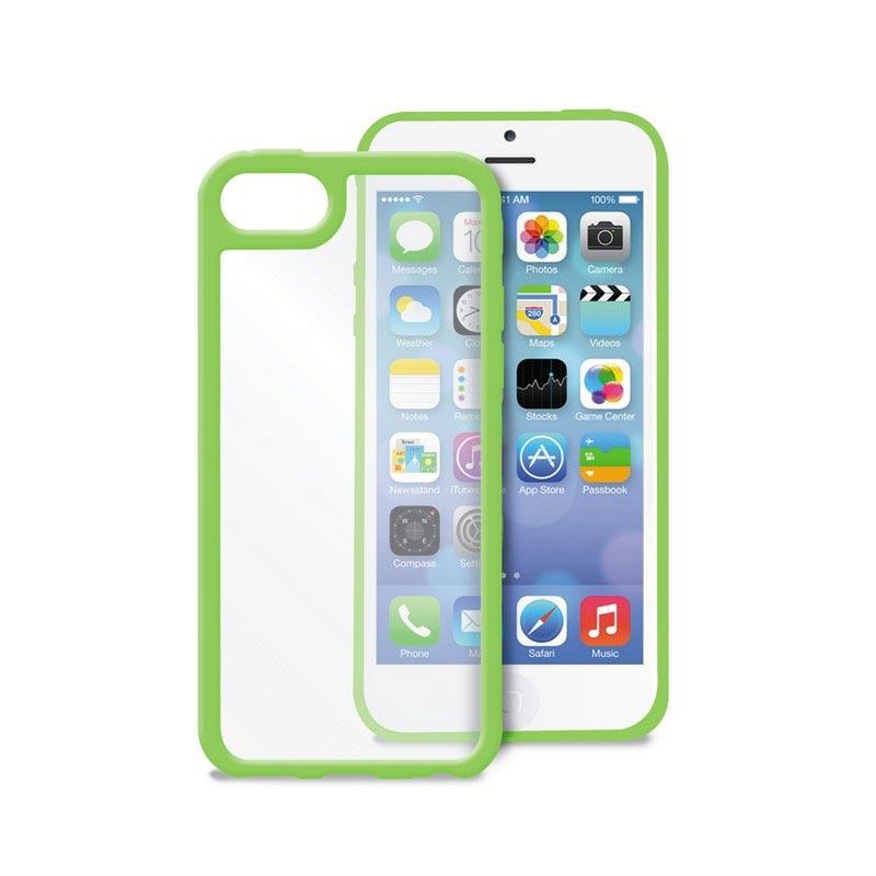 iPhone 5C Puro Clear Case - Green
