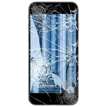 iPhone 6 LCD and Touch Screen Repair - Black - Grade A