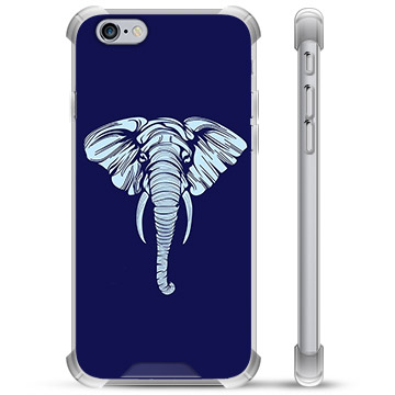 iPhone 6 / 6S Hybrid Case - Elephant
